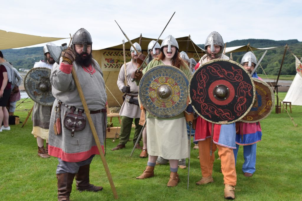 Historically accurate fun at the Lochgilphead Celtic and Pictish Festival