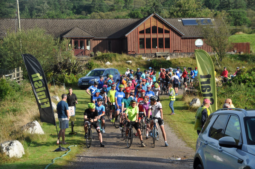 Kilberry Sportive well supported in sunshine