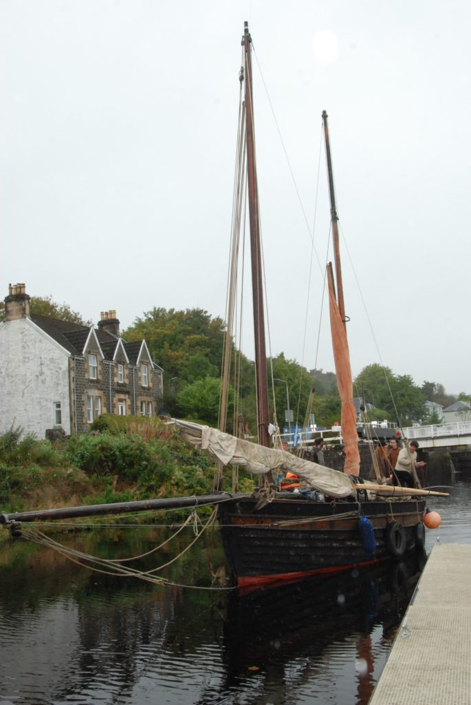 French skiff comes home