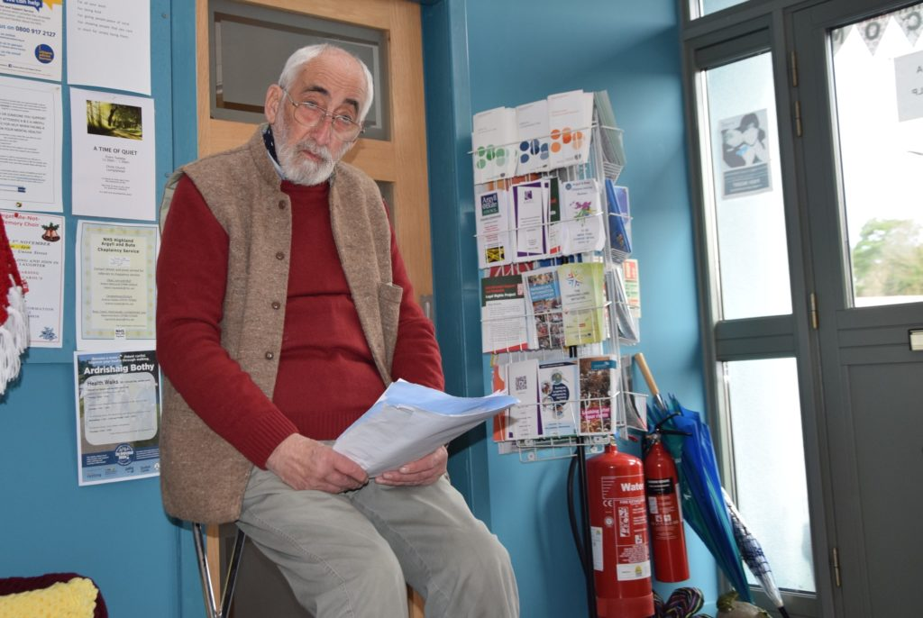 Carers drop in to morning of poetic delight