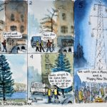 Ann Thomas takes a sideways look at the Tarbert Christmas tree saga, and imagines a pylon-related solution