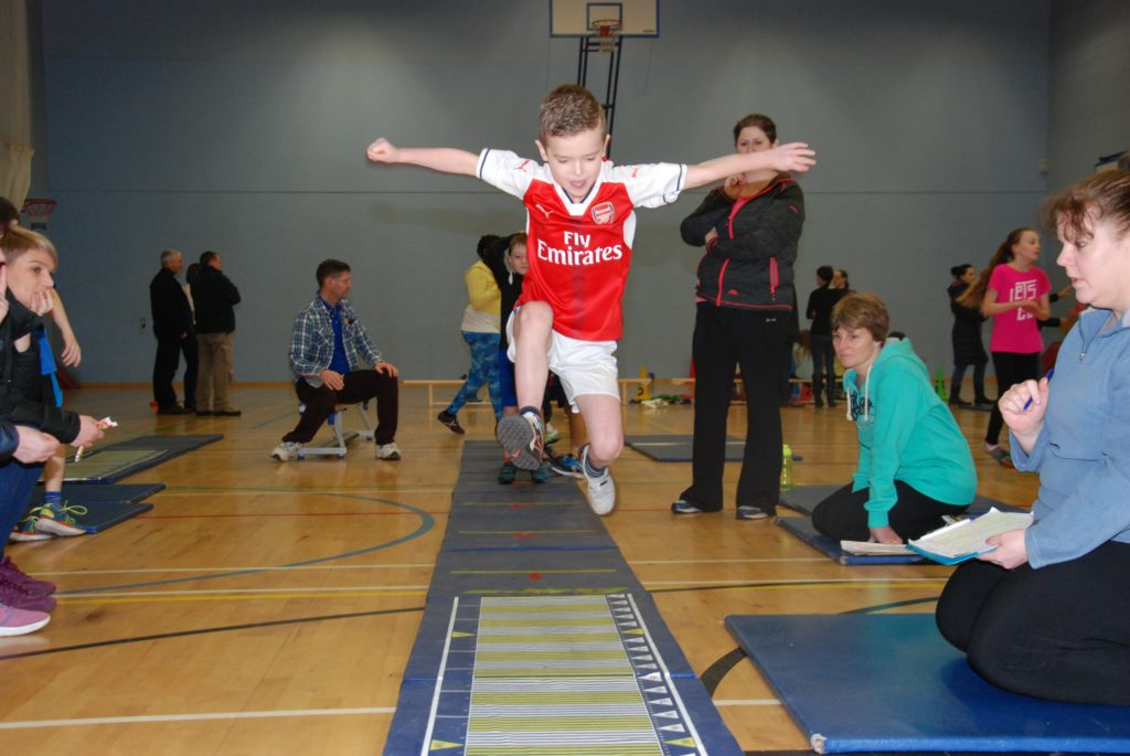 Under starter's orders for indoor athletics