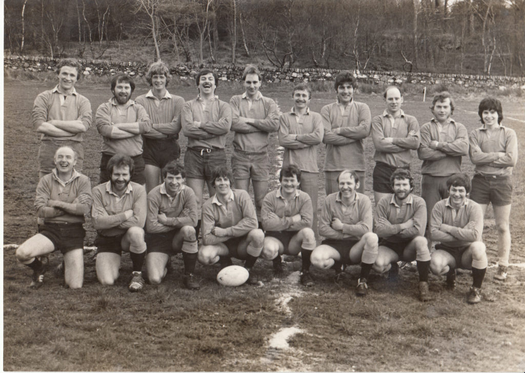 A Mid Argyll rugby blast from the past