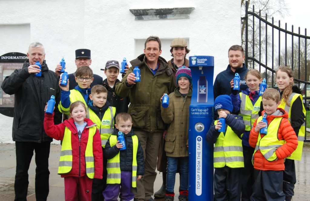 Water load of fun in Inveraray