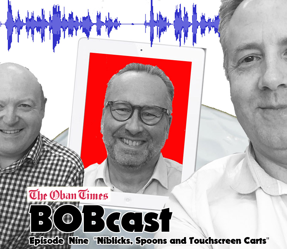 """BOBcast Podcast Episode 9 """"Niblicks, Spoons and Touchscreen Carts"""""""