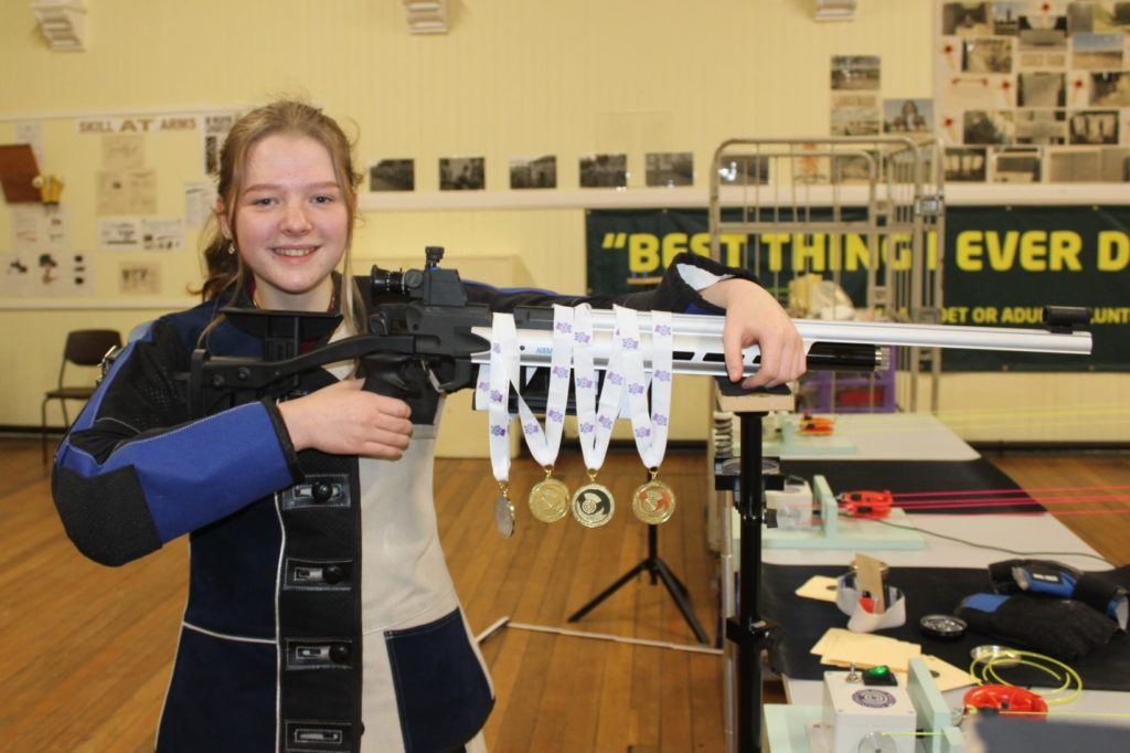 Shooting star Rhona aims for success