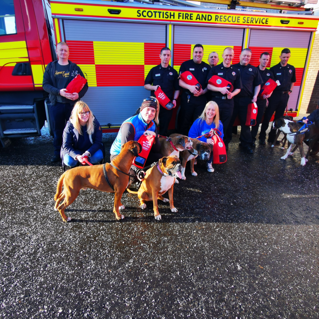Fire stations go dog daft