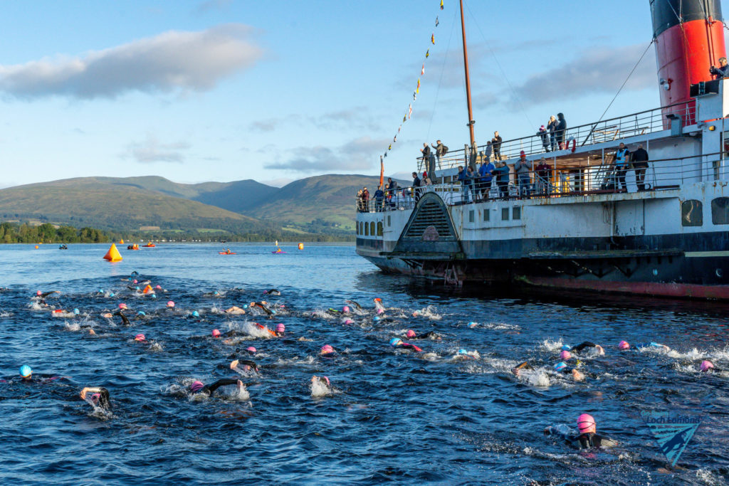 Funding boost for Go Swim Loch Lomond