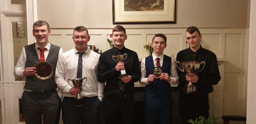 Shinty players celebrated at awards night