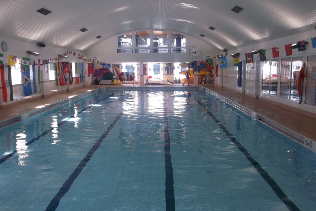Campaign builds to save island school swimming