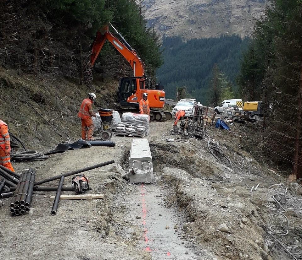 'Good headway' at A83 landslide site