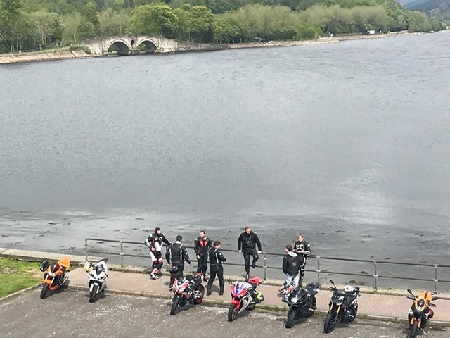 Bikers under fire after Inveraray jaunt