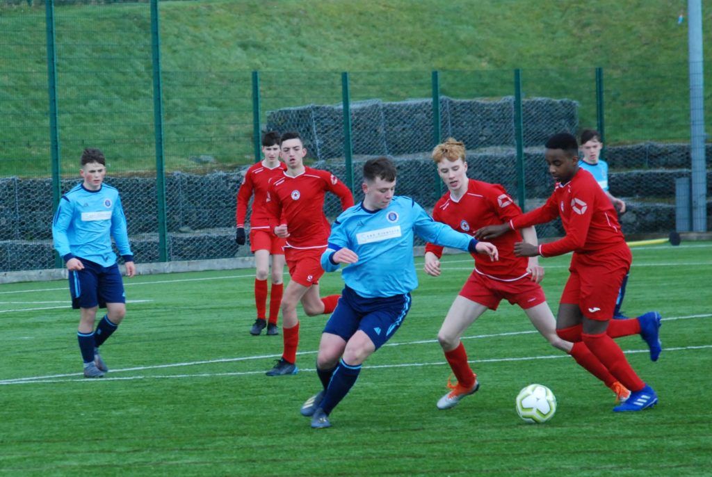 Mid Argyll youth footballers show promise in strong league