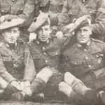 Young soldiers from the 8th Argylls before being sent to face the Nazis in northern France