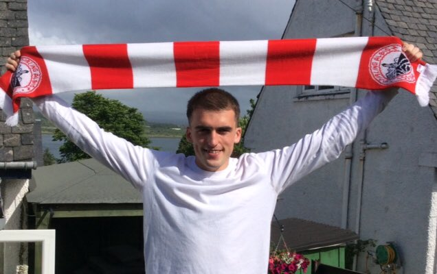 Kieran Moore signs for Stirling Albion
