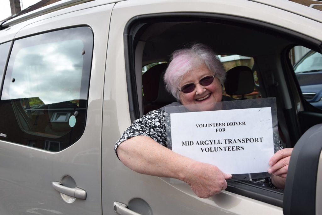 Volunteer drivers thanked for lockdown dedication