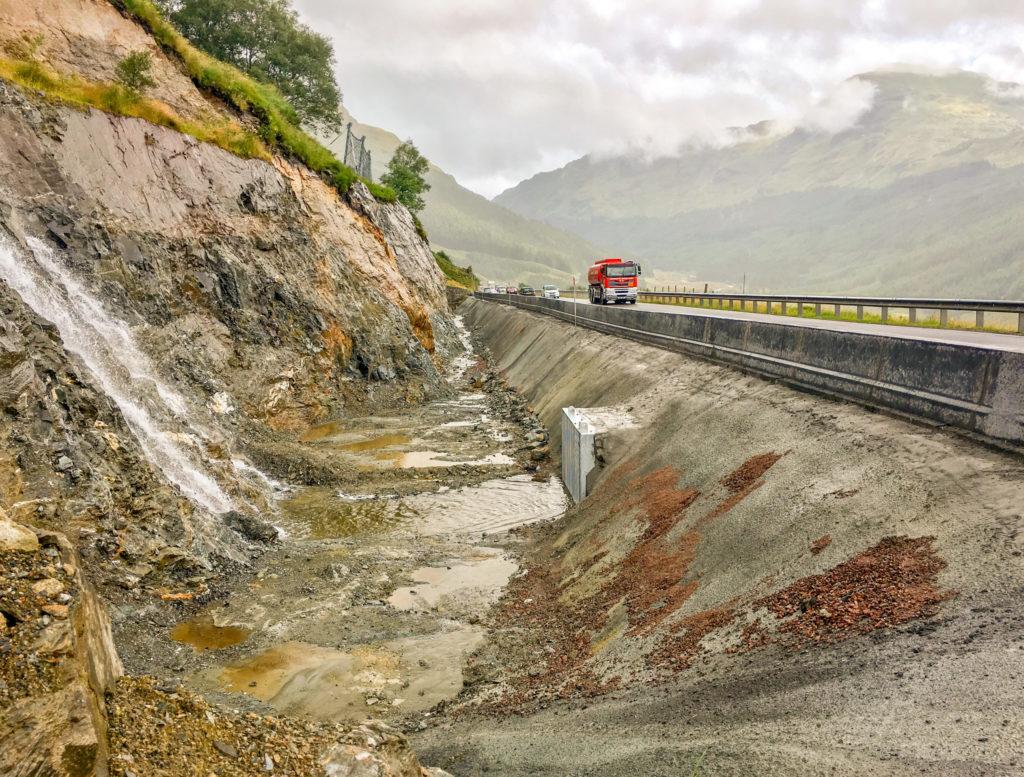 Another landslide pit for the Rest