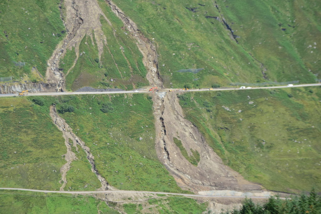 'Complex repairs' on A83 expected to take three weeks to complete