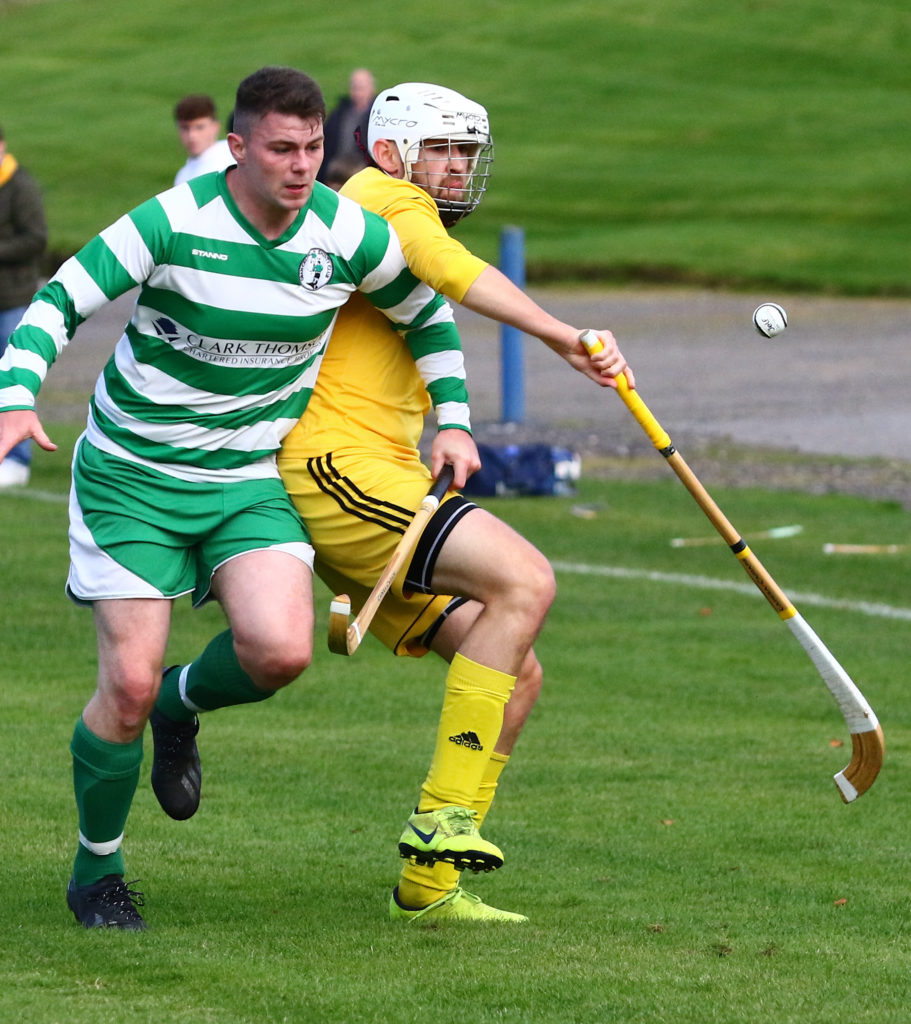 Shinty stirs into life under pandemic rules