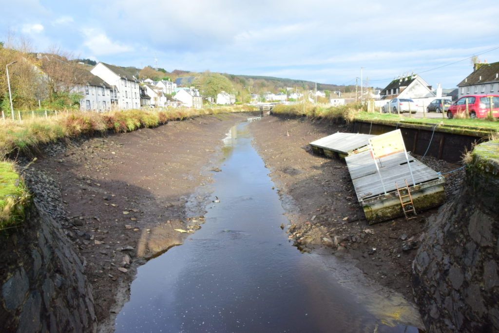Multi-million pound project begins to upgrade Crinan Canal