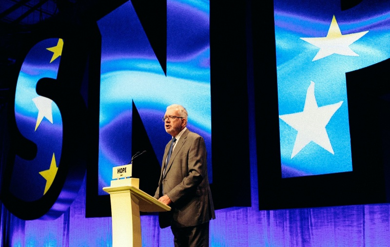 SNP elects Russell as party's new president