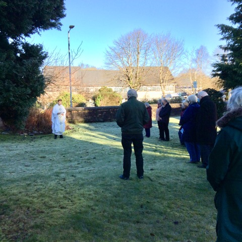 Poignant symbol of hope dedicated in Lochgilphead
