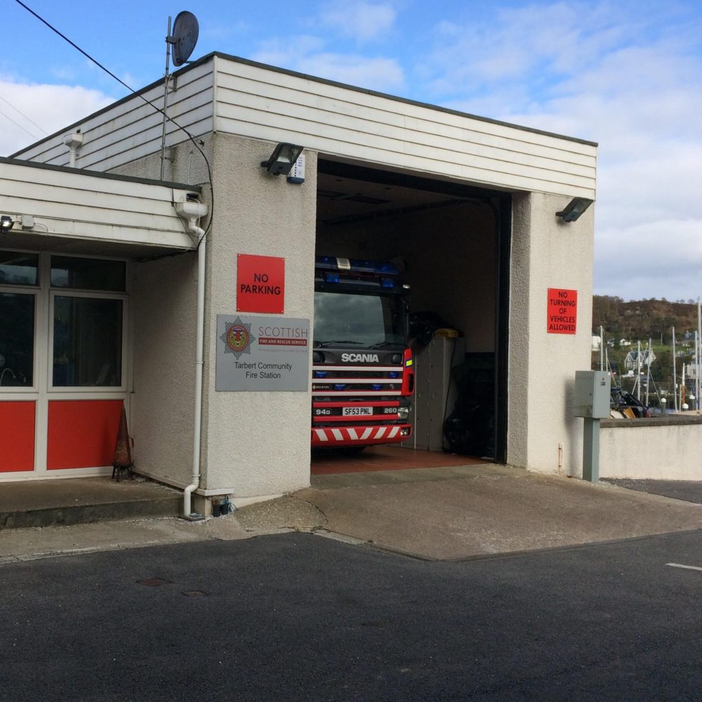 Fire station testing expanded to include Tarbert