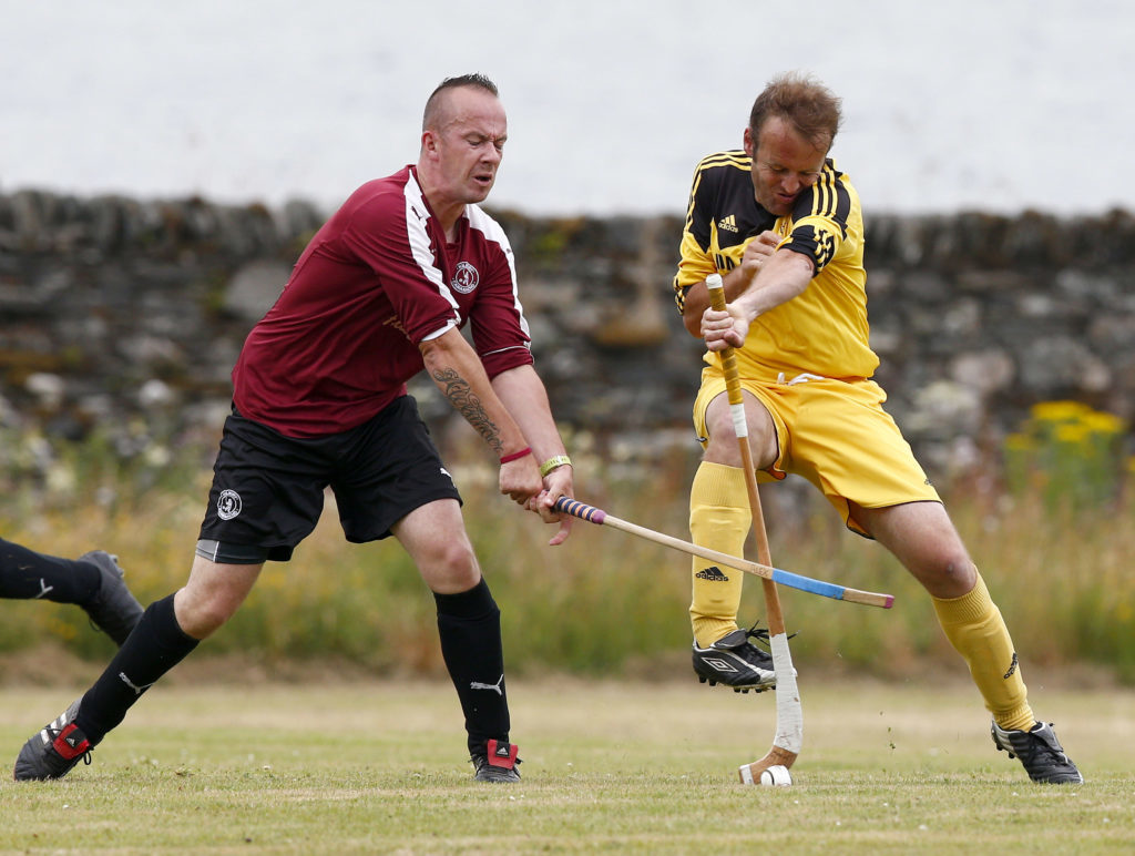 June target for competitive shinty return