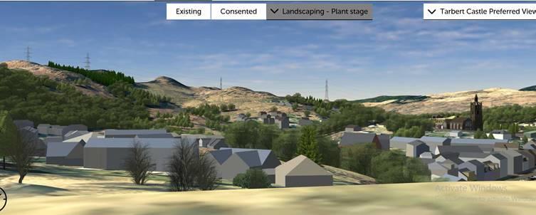 'Visual mitigation' plan as pylons march to Tarbert