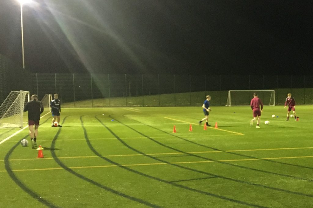 A welcome football return for primary pupils