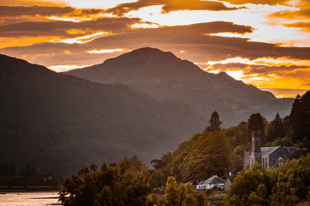 In the footsteps of faith on the Cowal peninsula