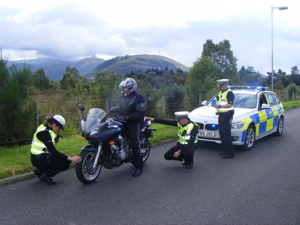 Screaming springtime bikes shatter Argyll peace
