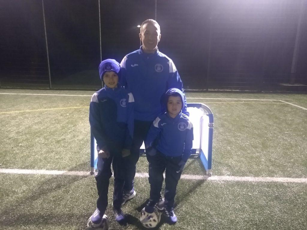 Tarbert Soccer Centre scores new training equipment
