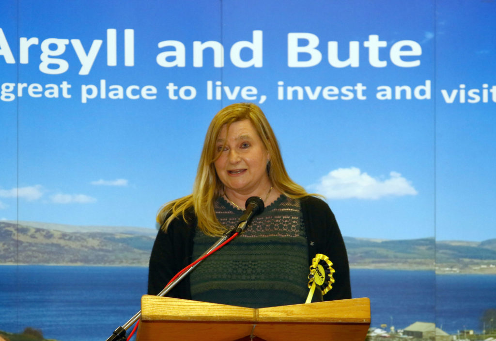 SNP holds Argyll and Bute