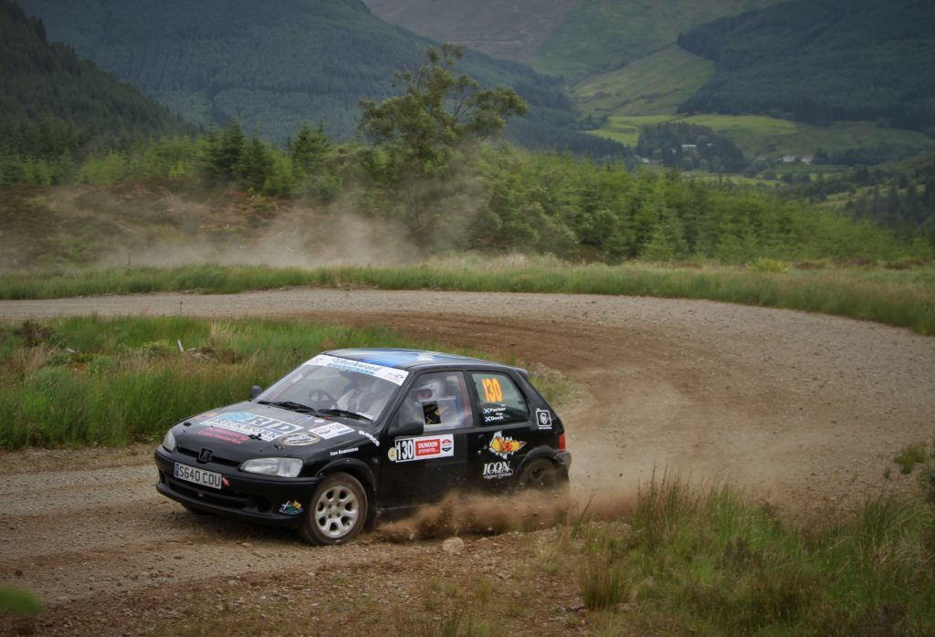 New-look Argyll Rally on the starting line
