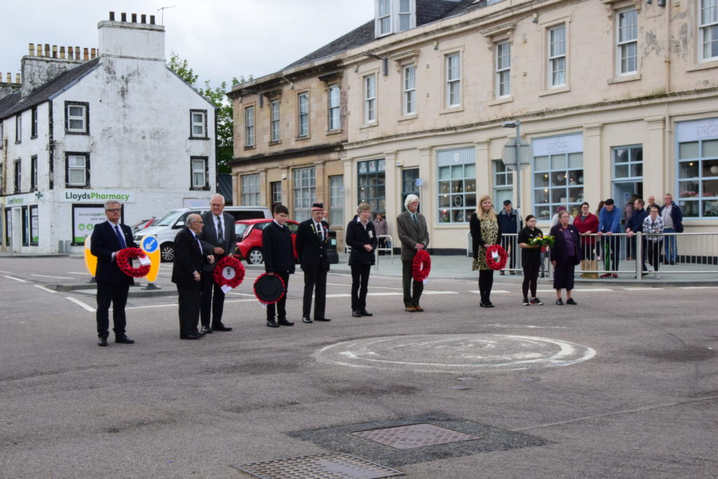 Forces day marked with quiet respect
