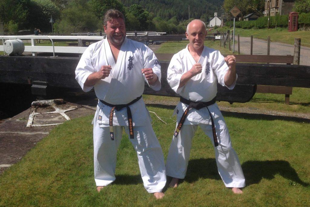 Black belt Wallace awarded fourth dan