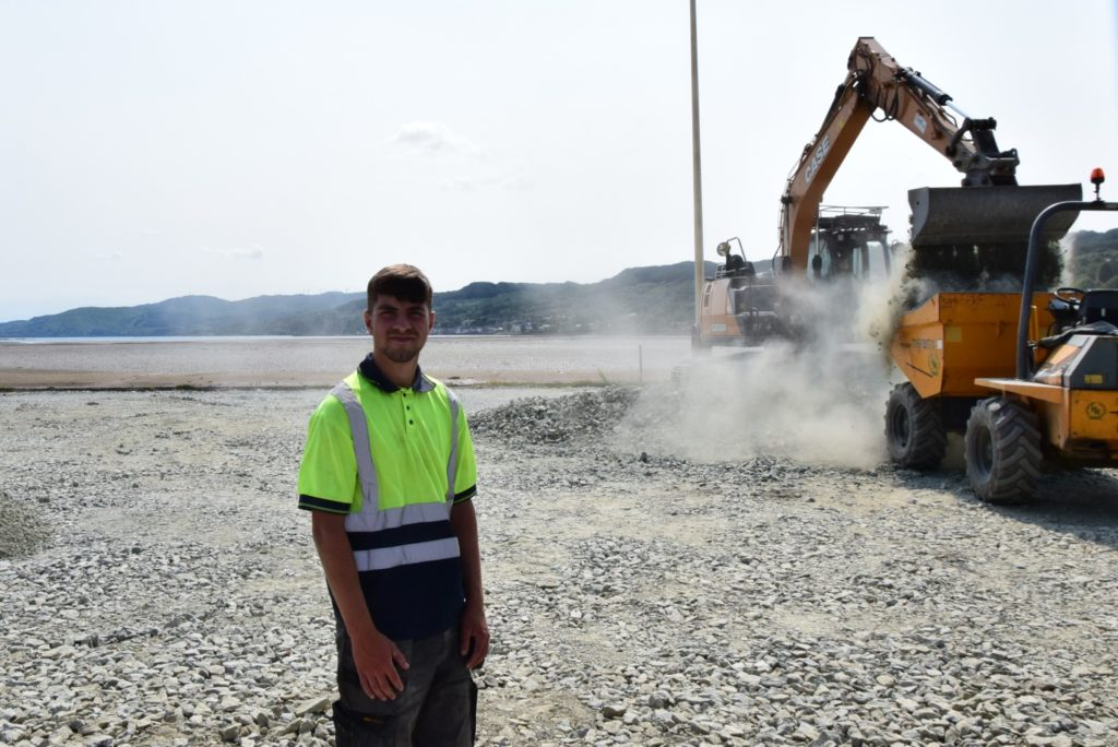 Redevelopment continues apace at Lochgilphead's front green