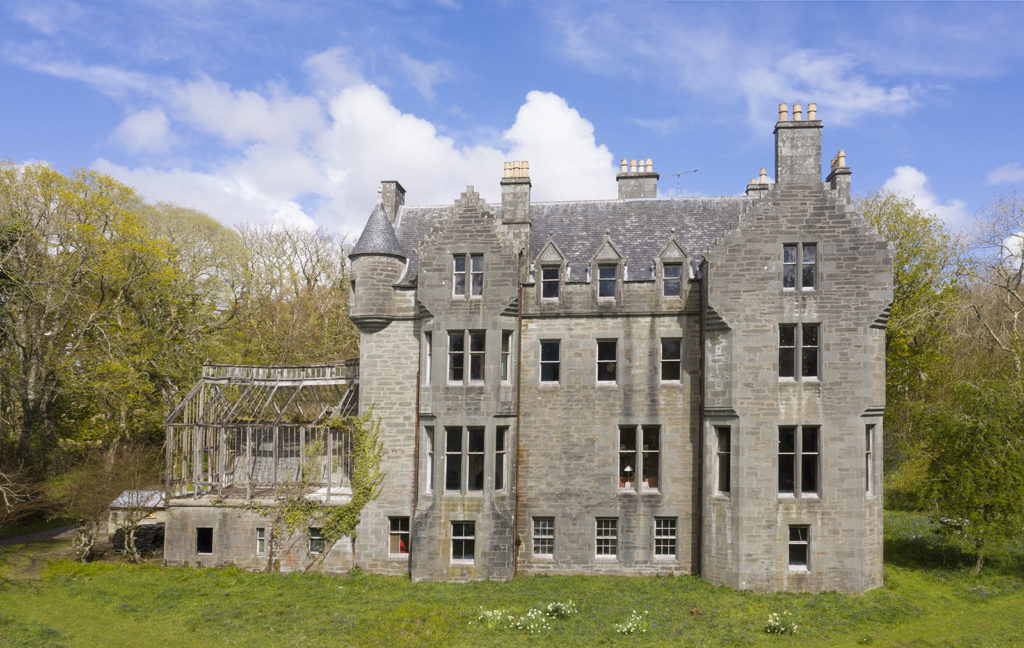 Own an old Campbell castle for the cost of London semi