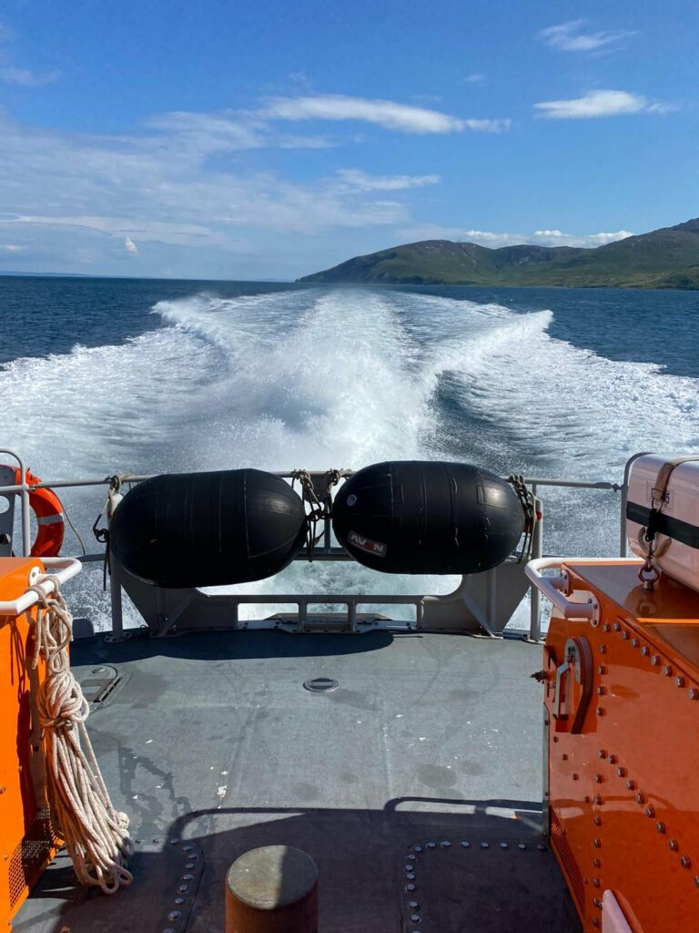 'Missing' kayakers spark two Islay lifeboat launches