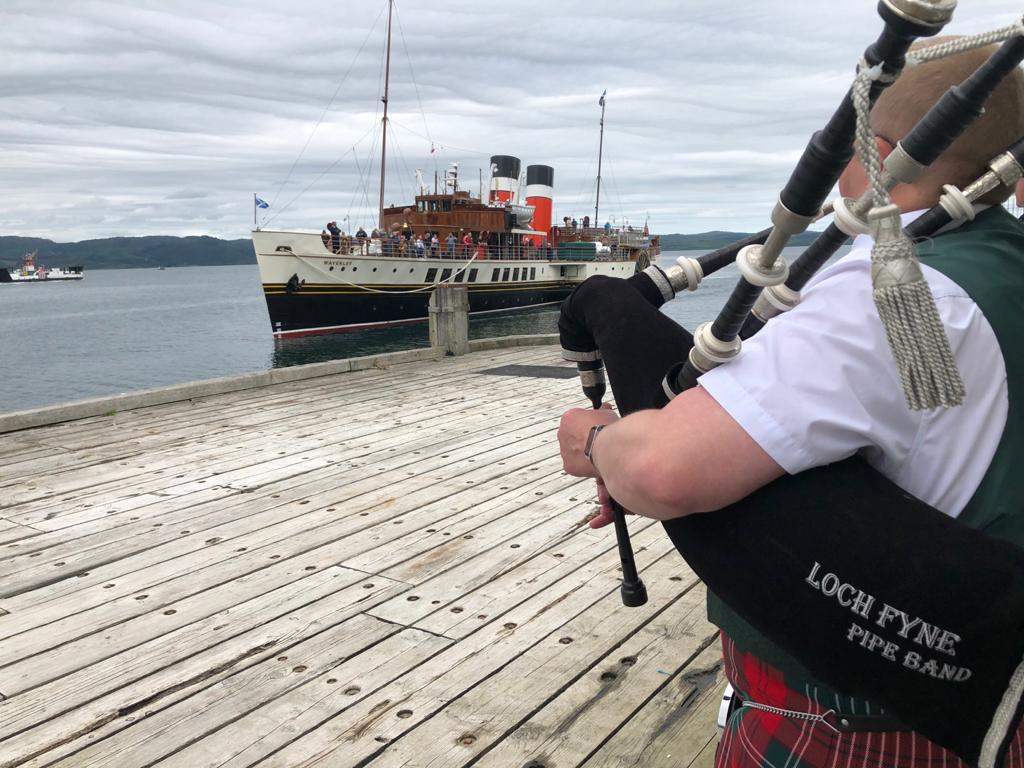 Doon the watter to Tarbert – and a warm welcome