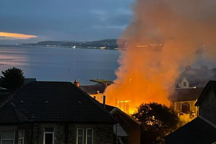 Two in court after blaze shocks Dunoon