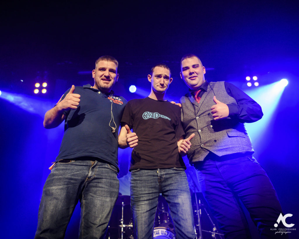 Peat and Diesel Tarbert gig cancelled