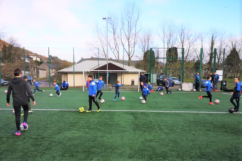 Tarbert sports pitches' defibrillator inspired by Euros drama