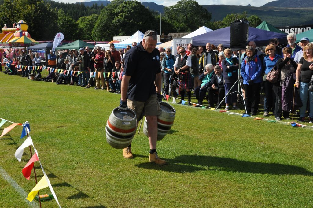 Charlie Tod takes on the beer barrel challenge.