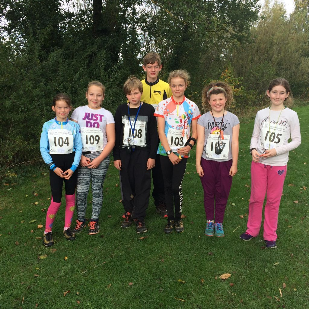 October - Team Arran brought back the silverware at the British Schools Orienteering Championship at Sheffield where Ciara Wood took silver in her class - S3 girls