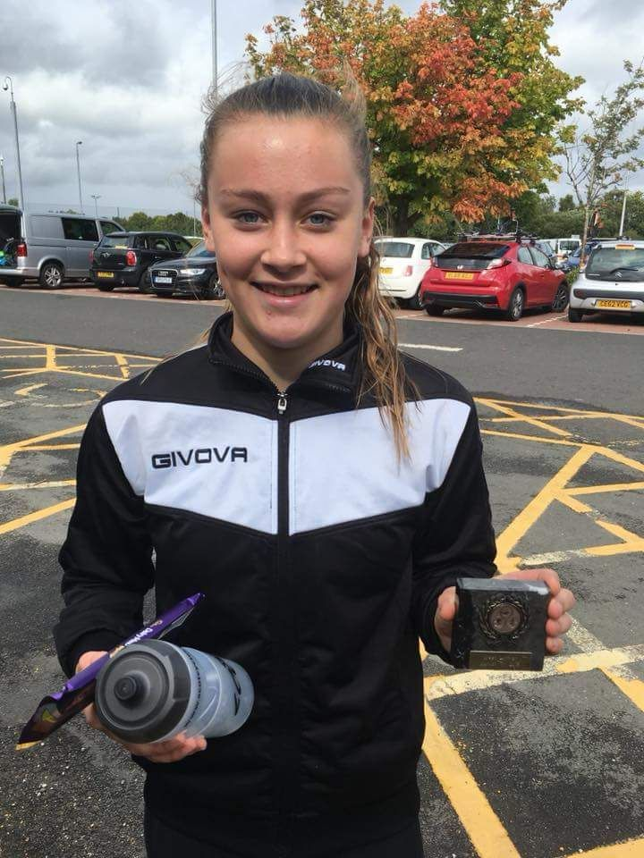 Julie Hamill attained third place in the Tristars 3 race at the Balfron Aquathlon and fourth place at Galashiels Autumn Junior Triathlon.