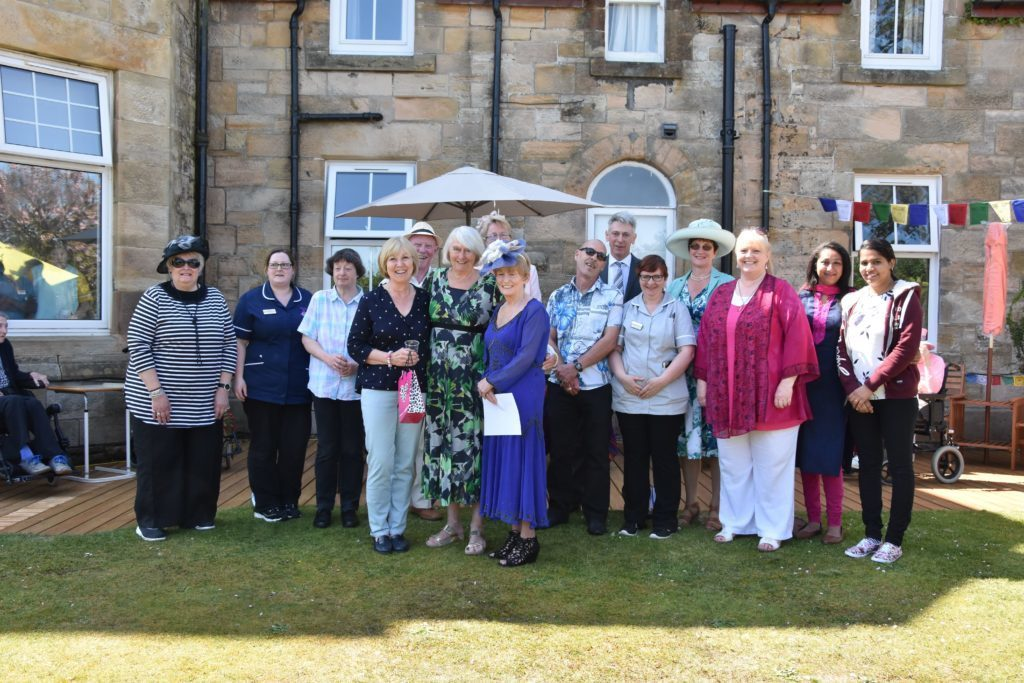 MAY - Celebrating 30 years of caring for the elderly, Cooriedoon care home management and staff hosted an elegant garden party with original founder, Celia Butler and long-standing nurse, Elaine Kelso, being honoured at the event.