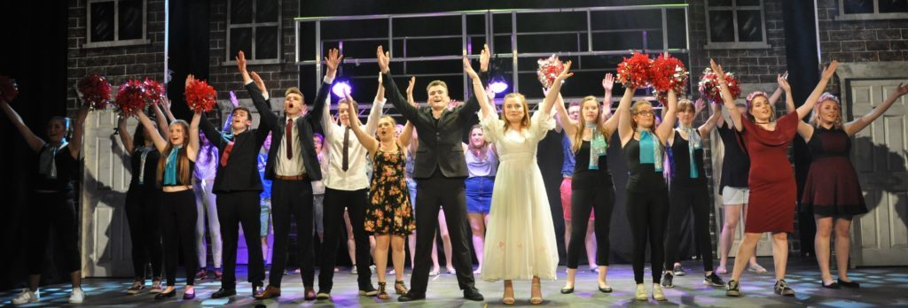 JUNE - Arran High School pupils performed their musical Our House to packed audiences at the Community Theatre in Lamlash.