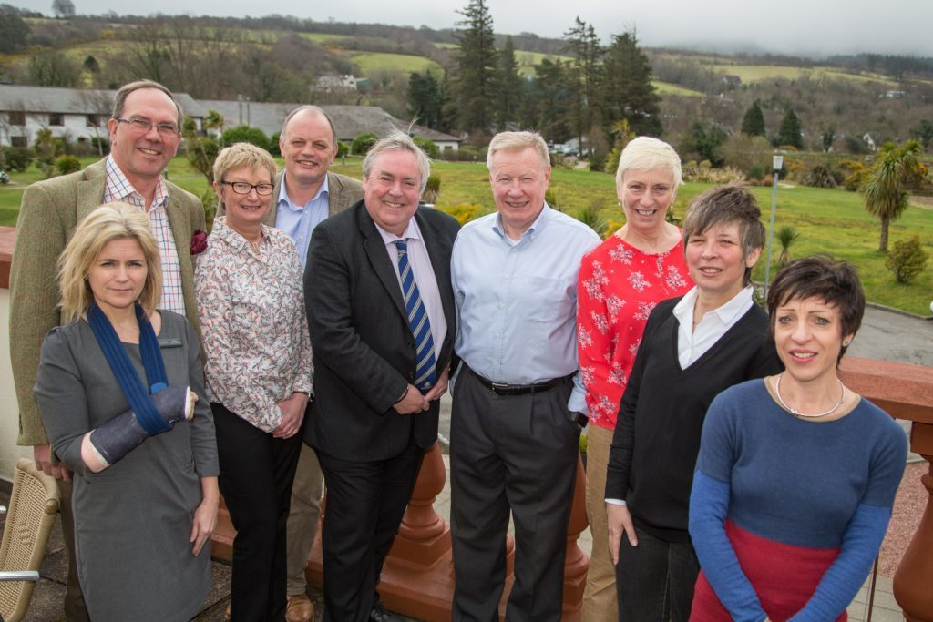 APRIL - VisitScotland chief executive Malcolm Roughead visited Arran where he met VisitArran board members Elaine Campbell, Kenny Bone, Linda Johnston, Alastair Dobson, Tom Tracey, Sheila Gilmore, Angela Elliot Walker and Lorna Mansfield.